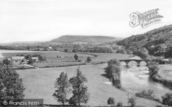 Goodrich, Kerne Bridge c.1960
