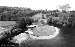 Goodrich, The River c.1960
