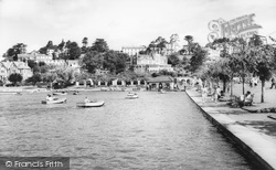 Goodrington, Boating Lake c.1965