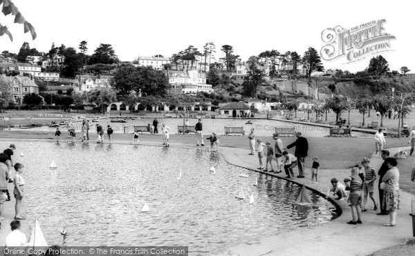 Photo of Goodrington, Children's Sailing Pool c.1965