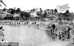 Goodrington, Children's Sailing Pool c.1965