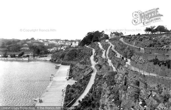Photo of Goodrington, Cliff Gardens 1933
