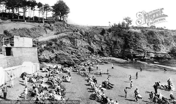 Goodrington, the Sands 1922