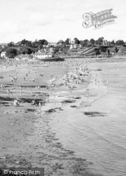 Goodrington, South Sands c.1955