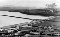 Goodwick, The Harbour And Beach c.1960