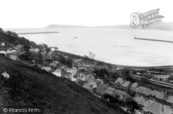 Goodwick, The Harbour  c.1955