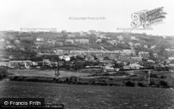 Goodwick, View From The Fields c.1955