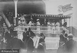 Goodwood, Grandstand, The Royal Box 1904