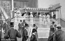 Goodwood, Illustration Of The Grandstand, The Royal Box 1904