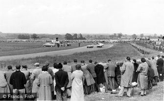 Goodwood, the Motor Racing Circuit c1960