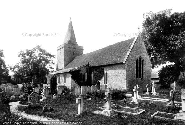 Photo of Goodworth Clatford, St Peter's Church 1899