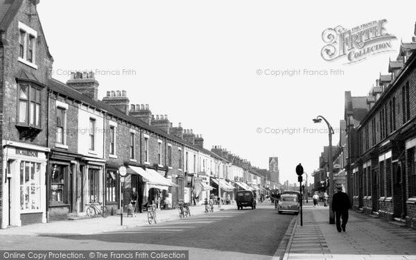 Photo of Goole, Pasture Road c1955, ref. g157011