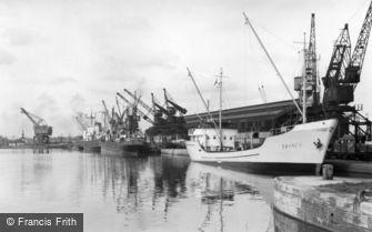Goole, the Docks c1955