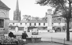 The Market Centre c.1955, Goole