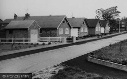 Goostrey, Bungalows, Meadow Avenue c.1965