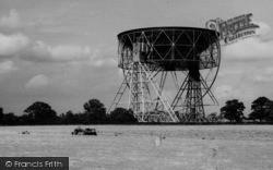 Goostrey, Harvest By The Jodrell Bank Radio Telescope c.1965