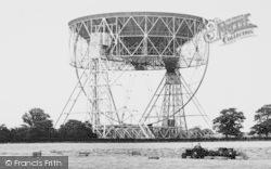 Goostrey, Harvest, Jodrell Bank Radio Telescope c.1965