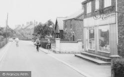 Goostrey, In The Village c.1965