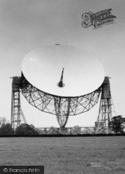 Goostrey, Jodrell Bank Telescope c.1965