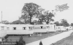 Goostrey, Mount Pleasant Caravan Park c.1965