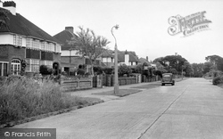 Goring-By-Sea, Ashurst Drive c.1955