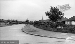 Goring-By-Sea, Bury Drive c.1955