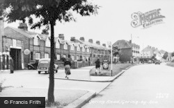 Goring-By-Sea, Goring Road c.1955