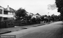 Goring-By-Sea, Ilex Way c.1955