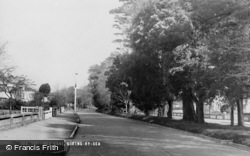 Goring-By-Sea, Sea Lane c.1955