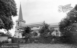Goring-By-Sea, St Mary's Church c.1955