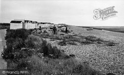 Goring-By-Sea, The Beach c.1955