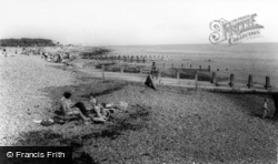 Goring-By-Sea, The Beach c.1965
