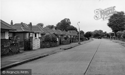 Goring-By-Sea, Wadhurst Drive c.1955