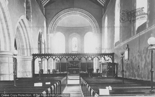 Photo of Goring, Church Interior 1890