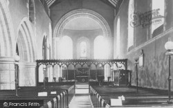 Goring, Church Interior 1890
