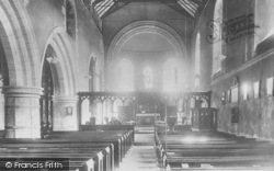 Goring, Church Interior 1900