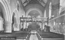 Goring, Church Interior 1909