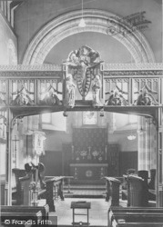 Goring, Church Screen 1909