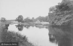 Goring, Cleeve Lock 1904