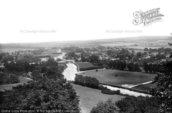 Goring, from Streatley Hills 1896.  (Neg. 38305)  © Copyright The Francis Frith Collection 2008. http://www.francisfrith.com