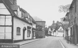 Goring, High Street c.1950