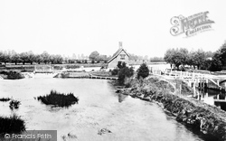 Goring, Lock And Weir 1890