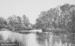 Goring, Lower Weir 1890