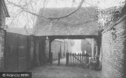 Goring, Lychgate 1909