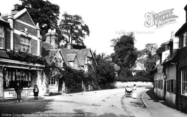 Goring, Manor Road 1904.  (Neg. 52927)  © Copyright The Francis Frith Collection 2008. http://www.francisfrith.com