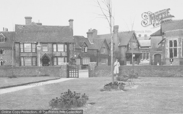 Photo of Goring, Rectory Gardens c.1955