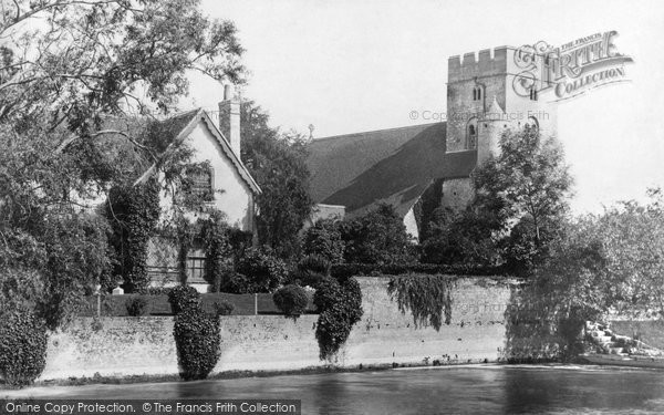 Goring, Church 1890.  (Neg. 27038)  © Copyright The Francis Frith Collection 2008. http://www.francisfrith.com