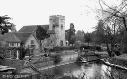Goring, St Thomas Of Canterbury's Parish Church c.1955