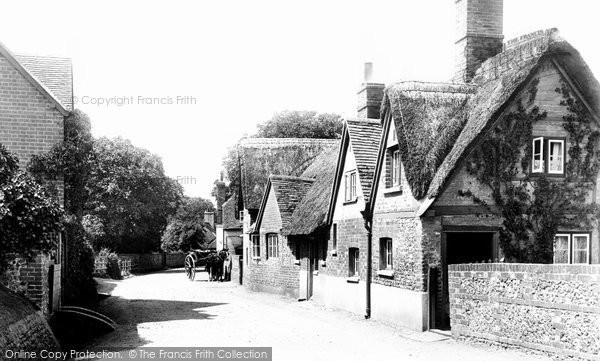 Photo of Goring, Thatched Cottage 1896