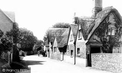 Goring, Thatched Cottage 1896